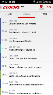 L'Equipe.fr : foot, rugby Screenshot 2