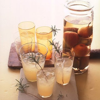 Pear-Rosemary Cocktails.