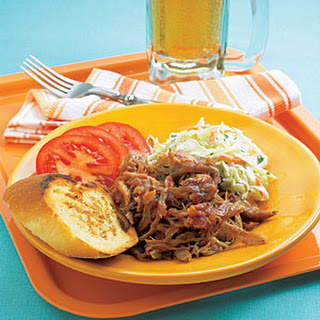 Pulled Pork with Coleslaw.