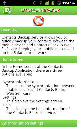【免費工具App】Safaricom Contacts Backup-APP點子