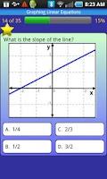 Screenshot of meStudying: Algebra 1