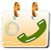 Call Log Calendar icon