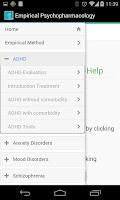 Screenshot of Empirical Psychopharmacology