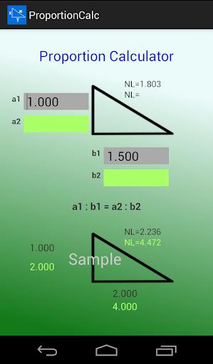 Proportion Calc