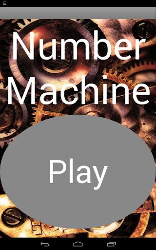 Number Machine