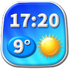 Digital Clock Weather Widget icon