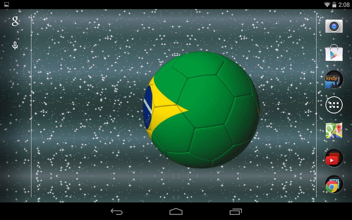 Brazil Soccer Robots Wallpaper- screenshot