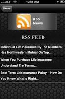Screenshot of Term Life Insurance