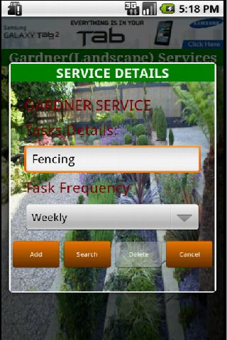 Gardner(Landscape) Services- screenshot