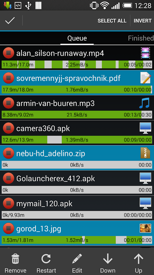 Advanced Download Manager - screenshot