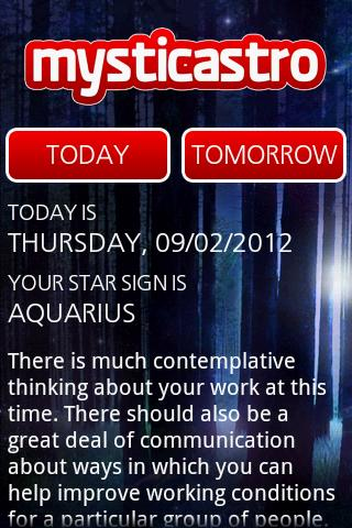 Personal Horoscope PRO - screenshot