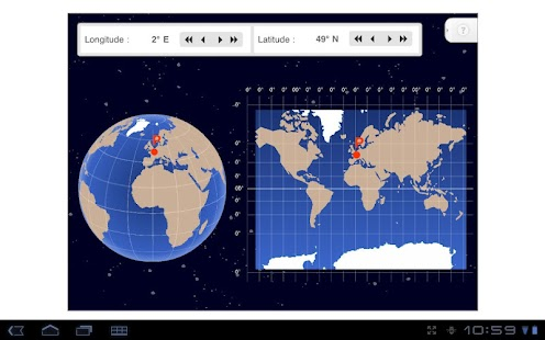Longitude and Latitude - screenshot thumbnail