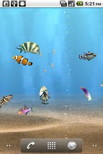 aniPet Aquarium LiveWallpaper - screenshot thumbnail