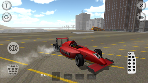 Fast Racing Car Simulator