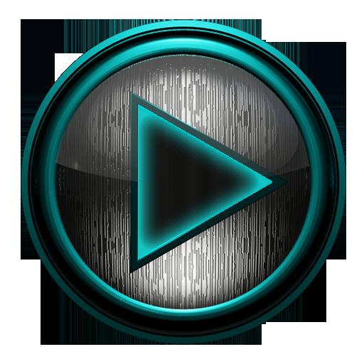 娛樂App|Poweramp skin 钢绿松石 LOGO-3C達人阿輝的APP