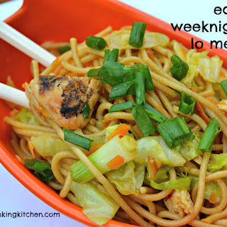 Easy Weeknight Lo Mein