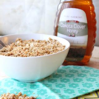 Easy Golden Honey Granola