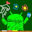 Drawing blackboard icon