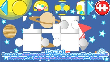 Screenshot of Kids Puzzle:Sort The Shapes 2+