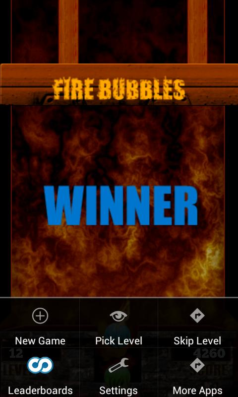 🔥 Fire Bubbles - screenshot