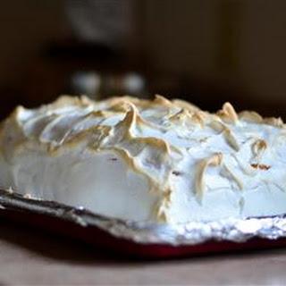Lemon Meringue Cake.