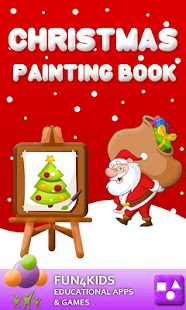 Kids Christmas Painting