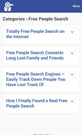 People Search Premium 1.0 screenshot 10032