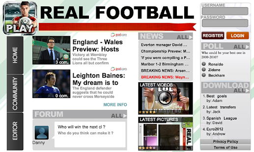 Real Football 2012- screenshot thumbnail