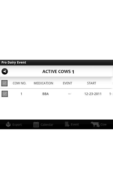 Pro Dairy Event- screenshot
