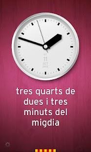 Rellotge Català - screenshot thumbnail