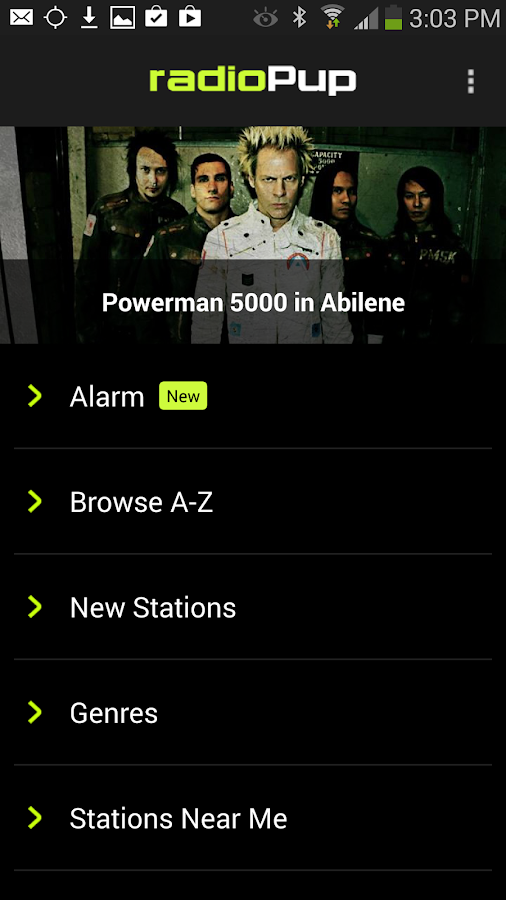 radioPup - screenshot