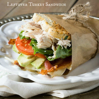 Leftover Turkey Bacon Avocado Sandwiches