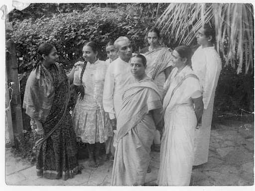An early picture of the Iyengar family