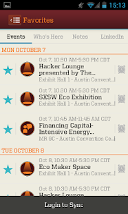SXSW Eco Mobile Guide - screenshot thumbnail