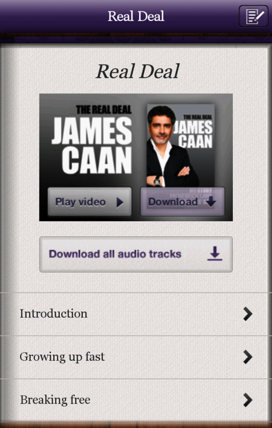 James Caan Business Secrets- screenshot