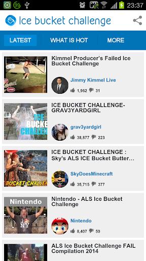 Ice Bucket Challenge Videos