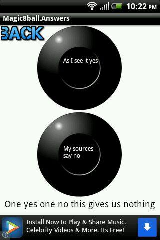 Magic 8 Ball Answers - screenshot