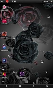 Roses live wallpaper screenshot