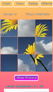 Photo Puzzle Of Flowers Screenshot 1