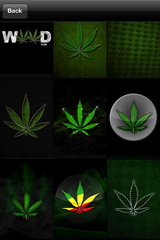 Weed Wallpaper!- screenshot