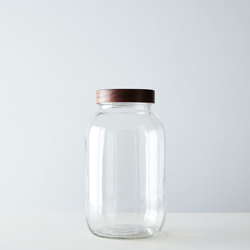Hand-Turned Half Gallon Jar