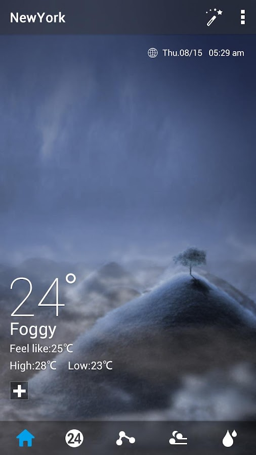 Default Dynamic 2.0 GO Weather- screenshot