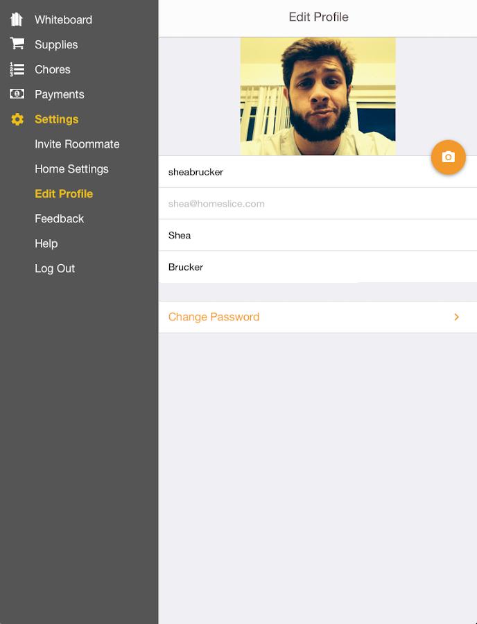 HomeSlice - screenshot