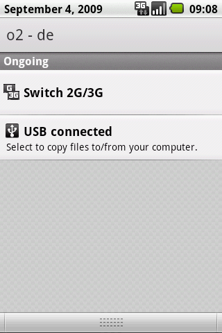 Switch Network Type 2G / 3G - screenshot