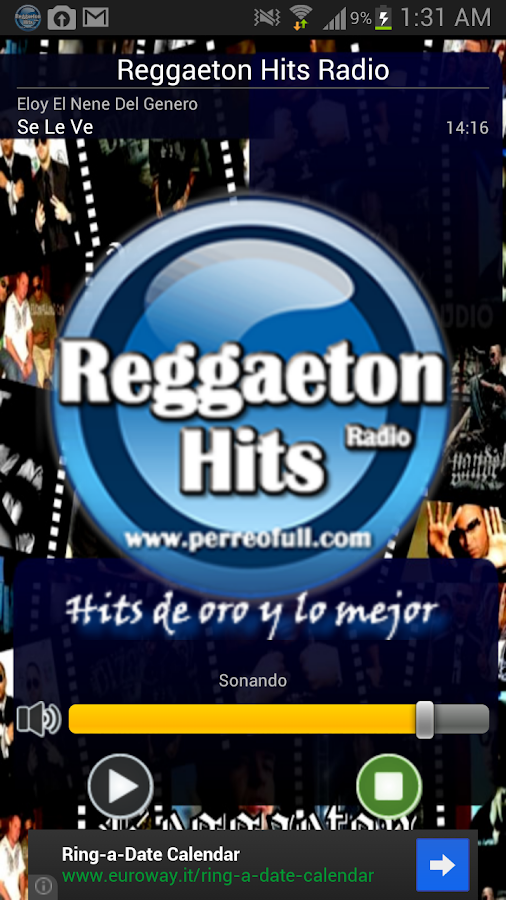 Reggaeton Hits Radio - screenshot