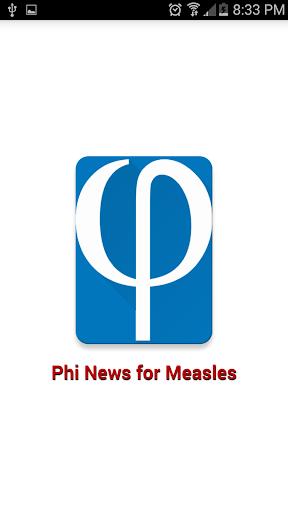 Phi News for Measles Outbreak