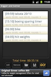 HIIT Interval Training TimerAD - screenshot thumbnail