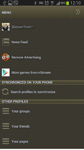 oStream - Offline for Facebook - screenshot thumbnail