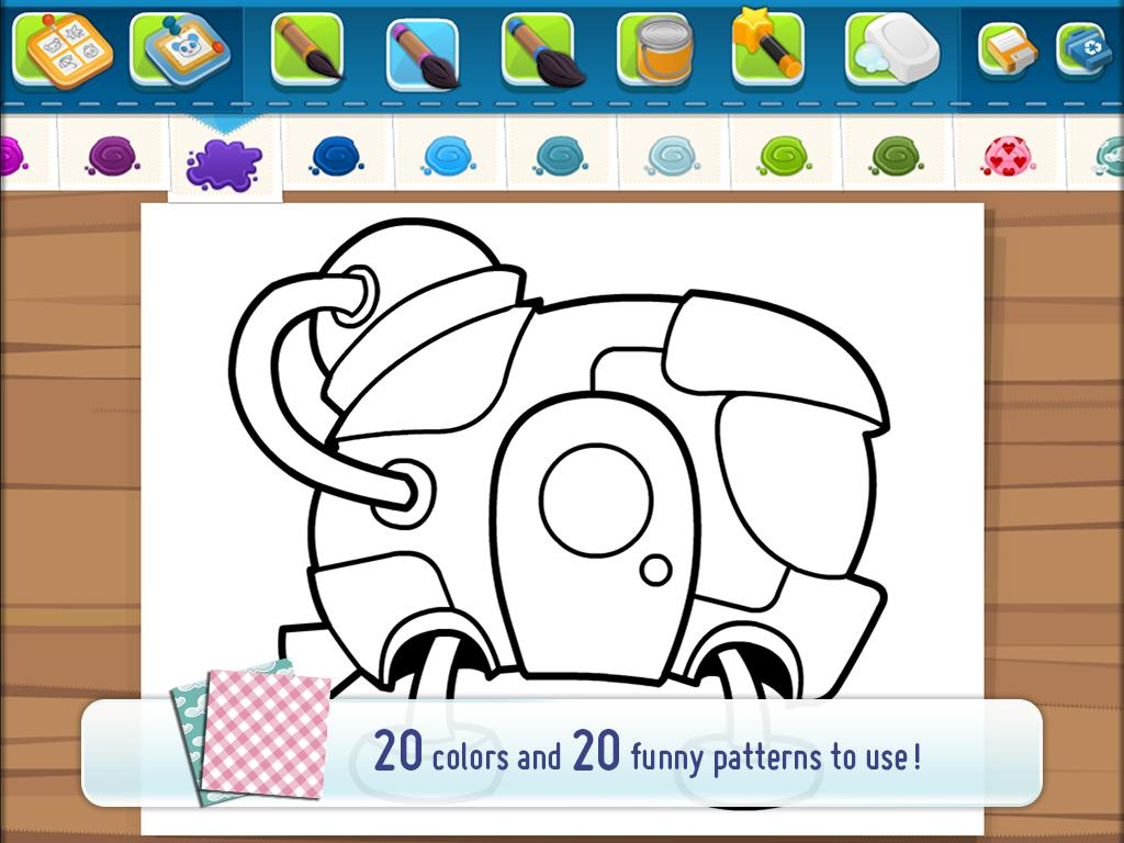 CosmoCamp: Coloring Book- screenshot