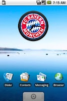 Screenshot of Bayern Munchen Clock